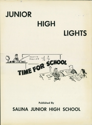 Page 3, 1955 Edition, Roosevelt Lincoln Middle School - Yearbook (Salina, KS) online yearbook collection