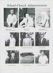 Page 10, 1982 Edition, Bethel Life School - Harbinger Yearbook (Wichita, KS) online yearbook collection