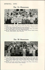 Page 15, 1951 Edition, Lawrence Junior High School - Junior Yearbook (Lawrence, KS) online yearbook collection
