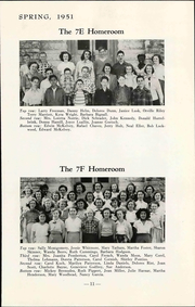 Page 17, 1951 Edition, Lawrence Junior High School - Junior Yearbook (Lawrence, KS) online yearbook collection