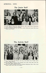 Page 7, 1951 Edition, Lawrence Junior High School - Junior Yearbook (Lawrence, KS) online yearbook collection