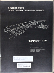 Page 3, 1972 Edition, Liberal Area Vocational Technical School - Exploit Yearbook (Liberal, KS) online yearbook collection