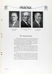 Page 12, 1930 Edition, Kansas City Kansas Community College - Owaissa Yearbook (Kansas City, KS) online yearbook collection