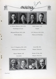 Page 14, 1930 Edition, Kansas City Kansas Community College - Owaissa Yearbook (Kansas City, KS) online yearbook collection