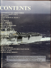 Page 9, 2002 Edition, Bon Homme Richard (LHD 6) - Naval Cruise Book online yearbook collection