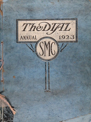 Page 1, 1923 Edition, St Marys College - Dial Yearbook (St Marys, KS) online yearbook collection