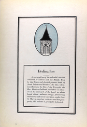 Page 10, 1923 Edition, St Marys College - Dial Yearbook (St Marys, KS) online yearbook collection