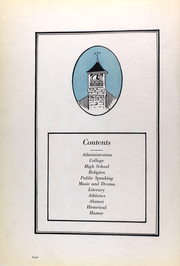 Page 12, 1923 Edition, St Marys College - Dial Yearbook (St Marys, KS) online yearbook collection
