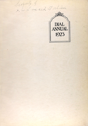 Page 5, 1923 Edition, St Marys College - Dial Yearbook (St Marys, KS) online yearbook collection