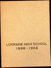 Page 1, 1966 Edition, Lorraine High School - Yearbook (Lorraine, KS) online yearbook collection