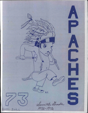 1973 Edition, Arrowhead Middle School - Apaches Yearbook (Kansas City, KS)