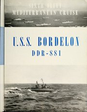Page 7, 1950 Edition, Bordelon (DDR 881) - Naval Cruise Book online yearbook collection