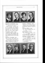 Page 12, 1925 Edition, Cleburne High School - Big Blue Yearbook (Cleburne, KS) online yearbook collection
