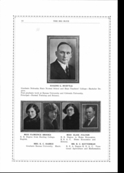 Page 9, 1925 Edition, Cleburne High School - Big Blue Yearbook (Cleburne, KS) online yearbook collection
