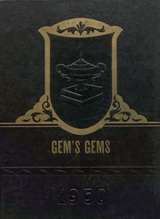Gem Consolidated School - Gems Yearbook (Colby, KS) online yearbook collection, 1950 Edition, Page 1