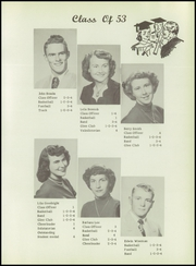 Page 17, 1954 Edition, Englewood High School - Bulldog Yearbook (Englewood, KS) online yearbook collection