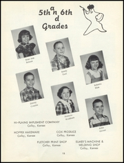 Page 17, 1958 Edition, Menlo High School - Tiger Yearbook (Menlo, KS) online yearbook collection