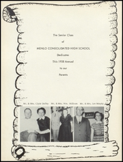 Page 4, 1958 Edition, Menlo High School - Tiger Yearbook (Menlo, KS) online yearbook collection