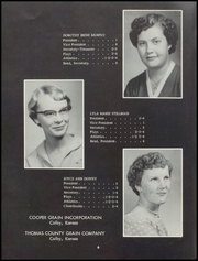 Page 8, 1958 Edition, Menlo High School - Tiger Yearbook (Menlo, KS) online yearbook collection
