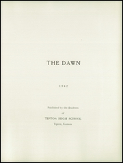 Page 7, 1942 Edition, Tipton High School - Dawn Yearbook (Tipton, KS) online yearbook collection