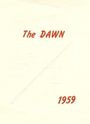 Page 1, 1959 Edition, Tipton High School - Dawn Yearbook (Tipton, KS) online yearbook collection