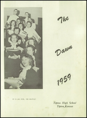 Page 3, 1959 Edition, Tipton High School - Dawn Yearbook (Tipton, KS) online yearbook collection