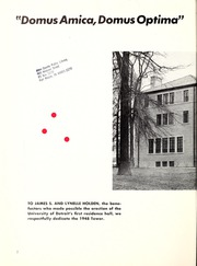 Page 6, 1948 Edition, University of Detroit - Tower Yearbook (Detroit, MI) online yearbook collection