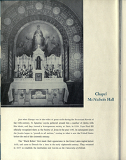 Page 10, 1952 Edition, University of Detroit - Tower Yearbook (Detroit, MI) online yearbook collection