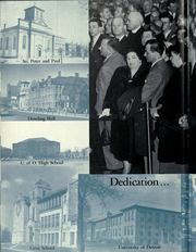 Page 8, 1952 Edition, University of Detroit - Tower Yearbook (Detroit, MI) online yearbook collection