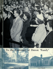 Page 9, 1952 Edition, University of Detroit - Tower Yearbook (Detroit, MI) online yearbook collection