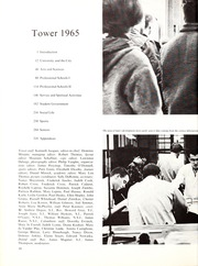 Page 14, 1965 Edition, University of Detroit - Tower Yearbook (Detroit, MI) online yearbook collection