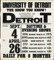 Page 13, 1974 Edition, University of Detroit - Tower Yearbook (Detroit, MI) online yearbook collection