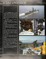 Page 16, 1985 Edition, Bowen (FF 1079) - Naval Cruise Book online yearbook collection