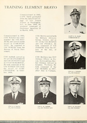 Page 10, 1969 Edition, Arnold J Isbell (DD 869) - Naval Cruise Book online yearbook collection
