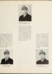 Page 9, 1969 Edition, Arnold J Isbell (DD 869) - Naval Cruise Book online yearbook collection
