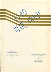 Page 5, 1940 Edition, University of Nebraska Kearney - Blue and Gold Yearbook (Kearney, NE) online yearbook collection