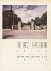 Page 7, 1942 Edition, John Tarleton College - Grassburr Yearbook (Stephenville, TX) online yearbook collection