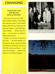 Page 8, 1974 Edition, John Tarleton College - Grassburr Yearbook (Stephenville, TX) online yearbook collection