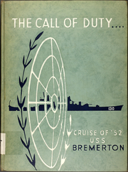 1952 Edition, Bremerton (CA 130) - Naval Cruise Book