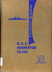 Page 1, 1954 Edition, Bremerton (CA 130) - Naval Cruise Book online yearbook collection