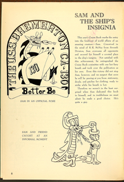 Page 10, 1954 Edition, Bremerton (CA 130) - Naval Cruise Book online yearbook collection