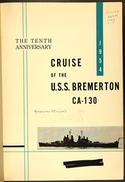 Page 5, 1954 Edition, Bremerton (CA 130) - Naval Cruise Book online yearbook collection