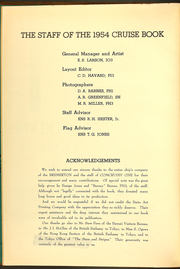 Page 6, 1954 Edition, Bremerton (CA 130) - Naval Cruise Book online yearbook collection