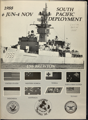 Page 5, 1988 Edition, Brewton (FF 1086) - Naval Cruise Book online yearbook collection