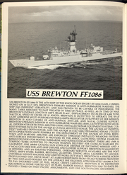 Page 8, 1988 Edition, Brewton (FF 1086) - Naval Cruise Book online yearbook collection