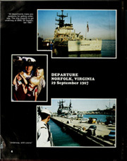 Page 10, 1988 Edition, Briscoe (DD 977) - Naval Cruise Book online yearbook collection