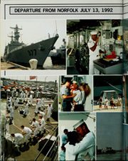 Page 10, 1993 Edition, Briscoe (DD 977) - Naval Cruise Book online yearbook collection