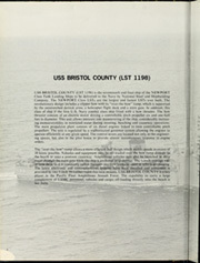 Page 6, 1991 Edition, Bristol County (LST 1198) - Naval Cruise Book online yearbook collection