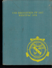 1978 Edition, Bronstein (FF 1037) - Naval Cruise Book