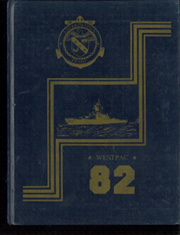 1982 Edition, Bronstein (FF 1037) - Naval Cruise Book